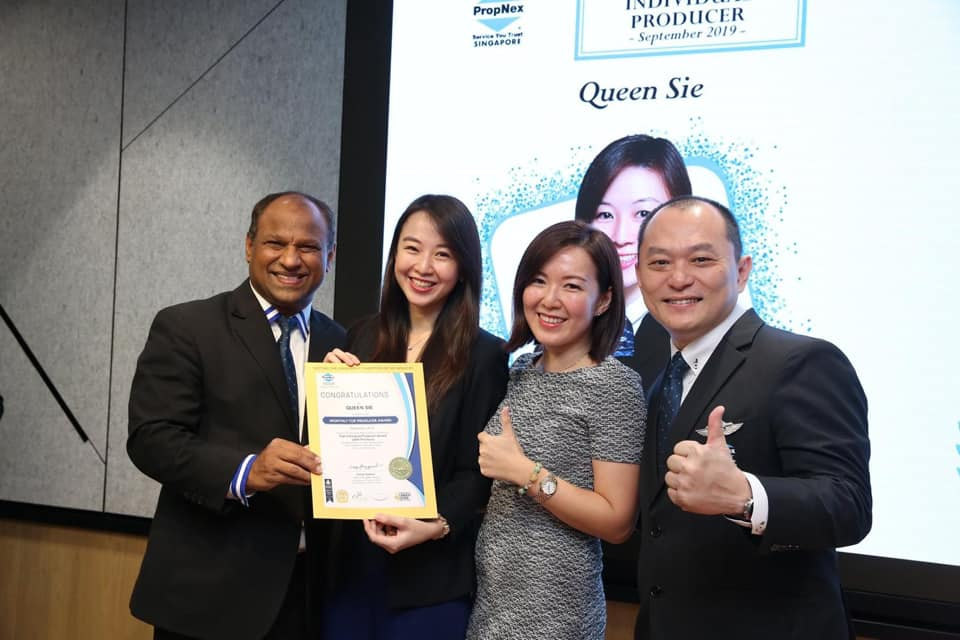 PropNex Leaders and Business Conference Top 18 Producer award 3Q 2017